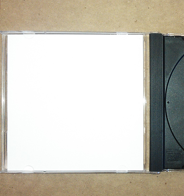 Jewel Case 2 Panel Insert (1 card, front & back)