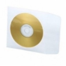 CD Paper Sleeve With Window - White