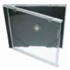 Jewel Case 1 Disc Black Tray