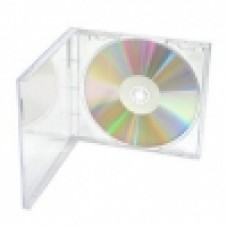 Jewel Case 1 Disc Clear Tray