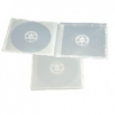 Poly Jewel Box 2 Disc White With Overwrap