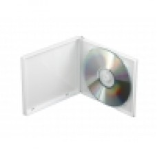 Poly Jewel Box 1 Disc White With Overwrap