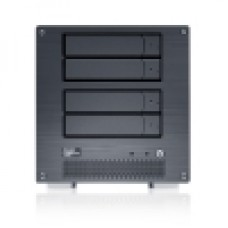 MobileNAS MN4LA+B - 64bit NAS + iSCSI 4 Bay Network Storage Server w/ Intel ATOM Dual Core CPU